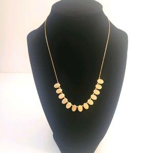 Plunder goldtone necklace